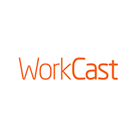 WorkCast Logo White