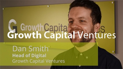 Growth Capital Ventures green male client