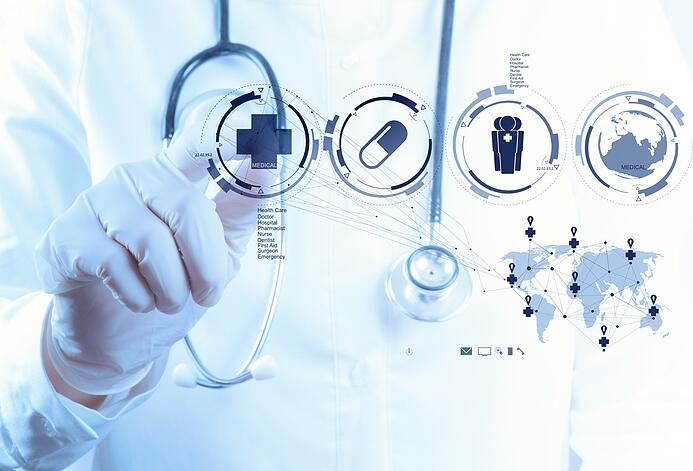 Medicine doctor hand working with modern computer interface as medical concept.jpeg
