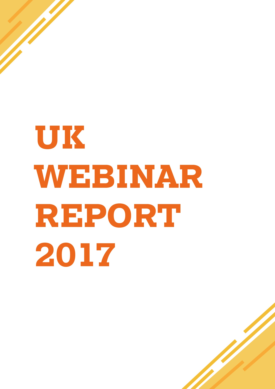 UK Webinar Report 2017 Front Cover