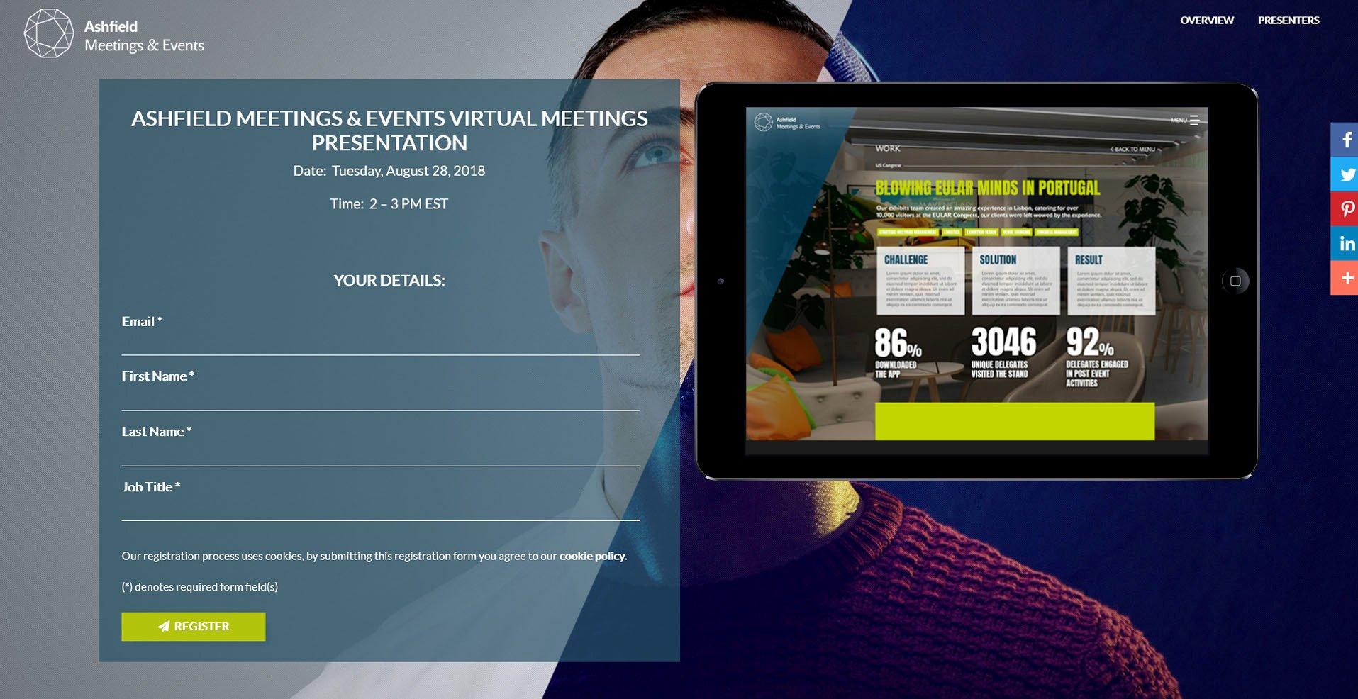WorkCast webinars look great