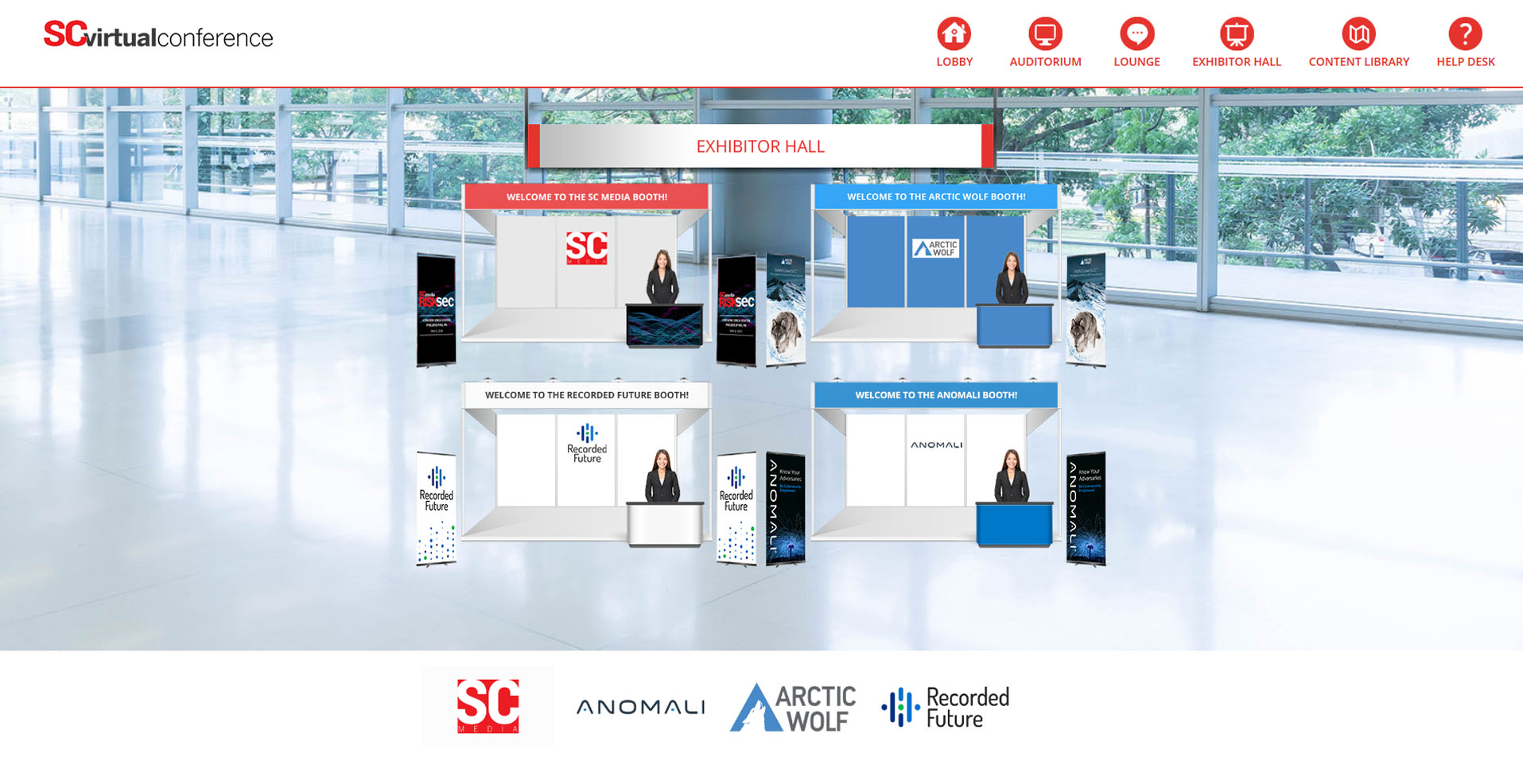 Virtual Event Sponsors