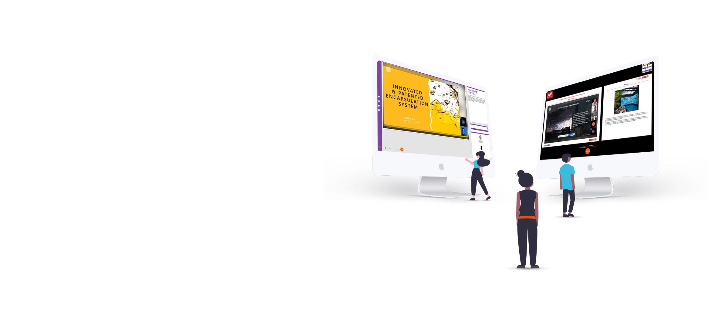 2021 Hybrid Events Platform Header